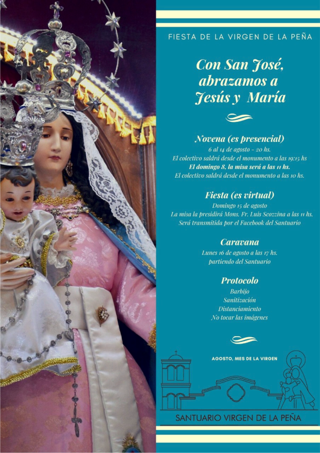 Organiza: Santuario Virgen de la Peña.